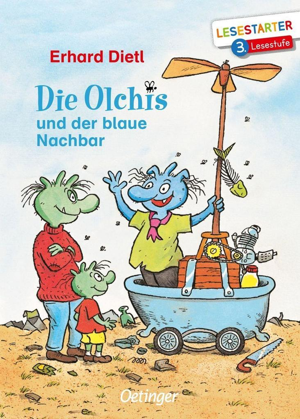 Die Olchis und der blaue Nachbar als Buch (gebunden)