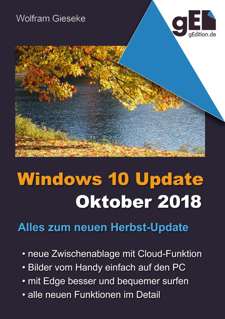 Windows 10 Update - Oktober 2018 als eBook