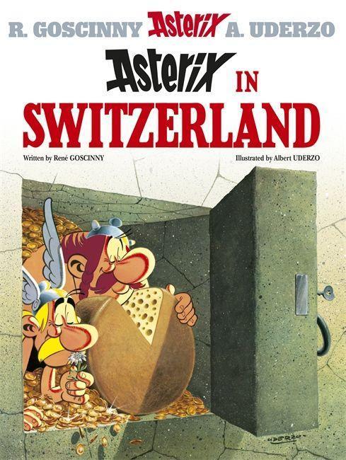 Asterix 16 in Switzerland als Buch (gebunden)