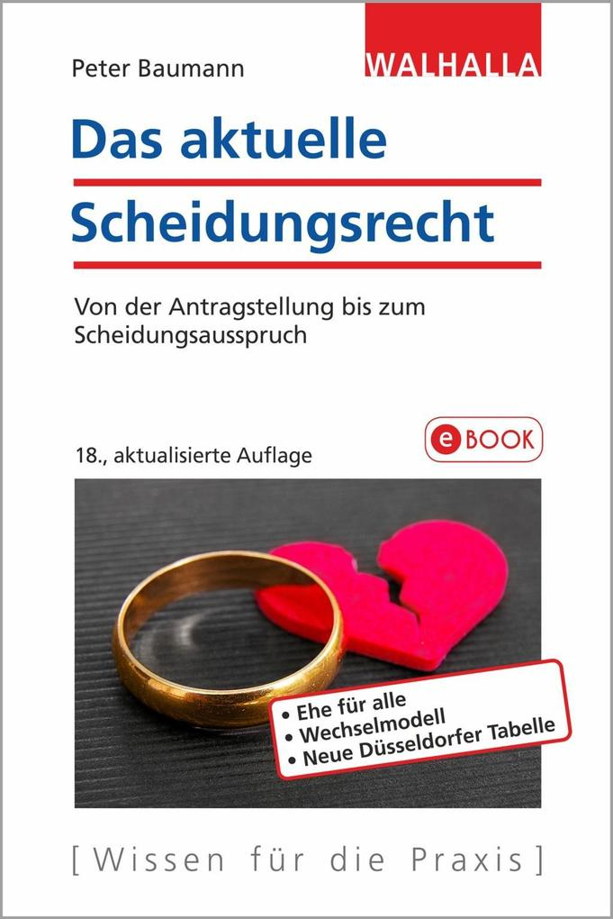 Das aktuelle Scheidungsrecht als eBook epub