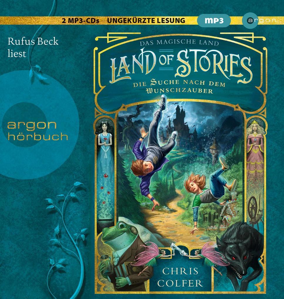Land of Stories: Das magische Land 1 - Die Suche nach dem Wunschzauber als Hörbuch CD