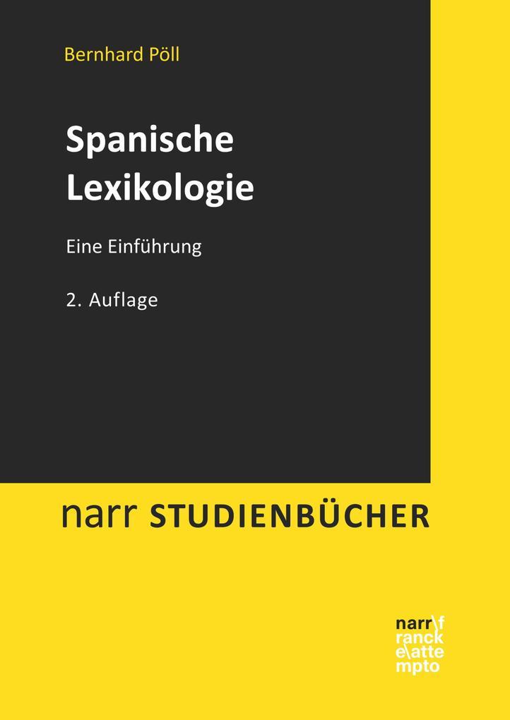 Spanische Lexikologie als eBook epub