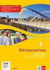 Découvertes 2. Ausgabe Bayern. Cahier d'activités mit mp3-CD, Video-DVD und Vokabeltrainer 2. Lernjahr