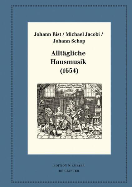 Alltägliche Hausmusik (1654) als Buch (gebunden)