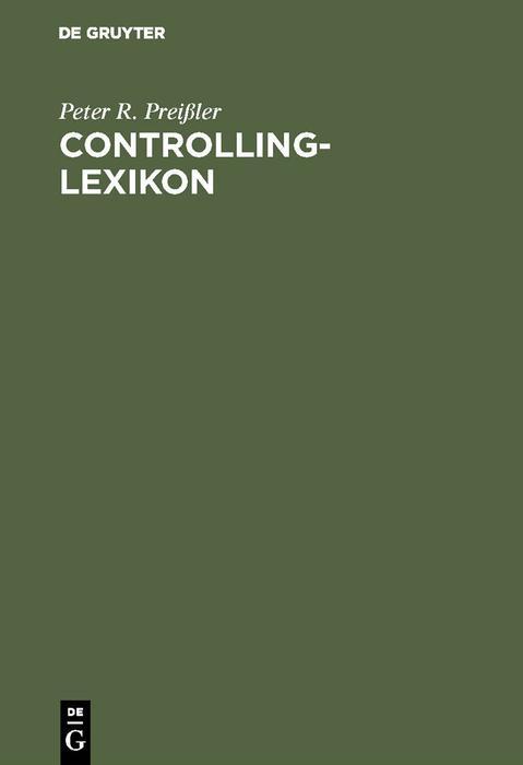Controlling-Lexikon als eBook pdf