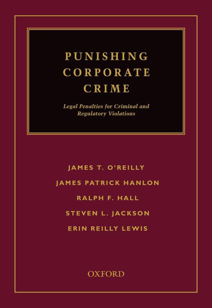 Punishing Corporate Crime als eBook pdf