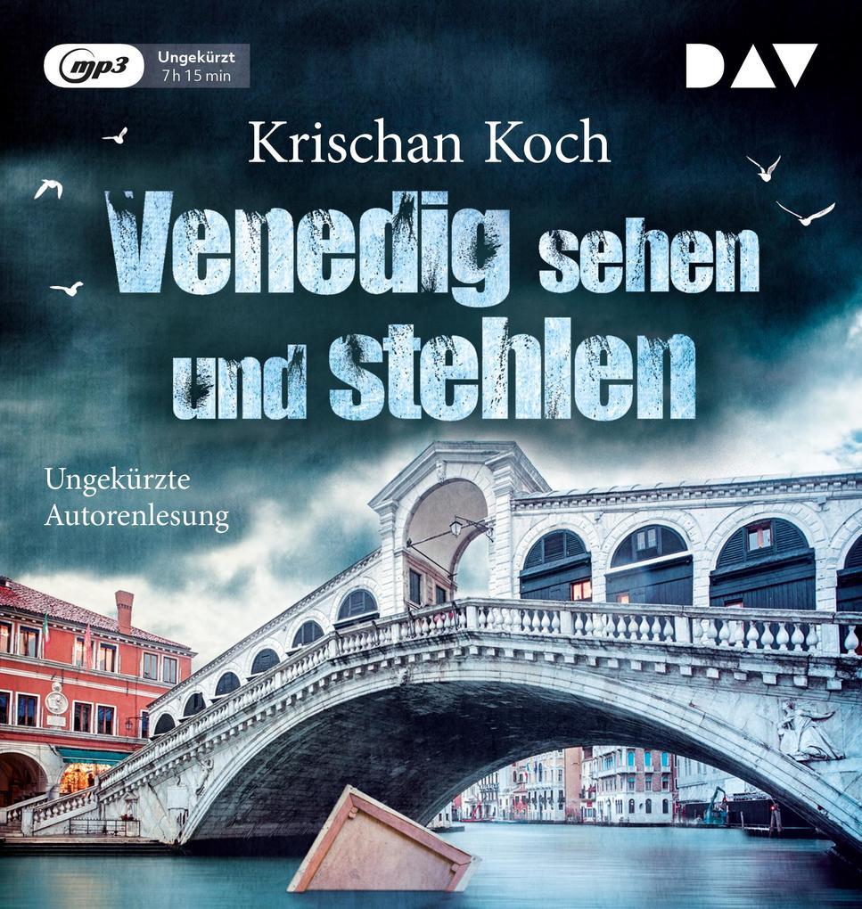 Venedig sehen und stehlen als Hörbuch CD