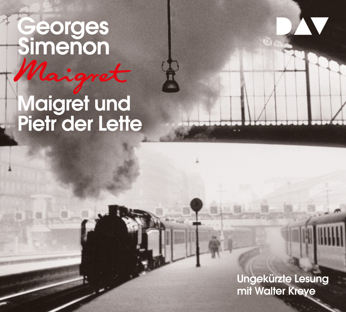 Maigret und Pietr der Lette als Hörbuch CD