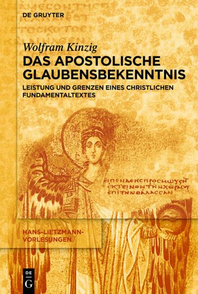 Das Apostolische Glaubensbekenntnis als Buch (kartoniert)