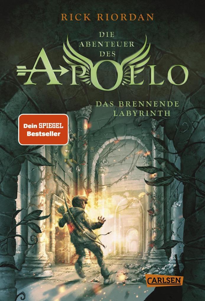 Die Abenteuer des Apollo 3: Das brennende Labyrinth als eBook epub