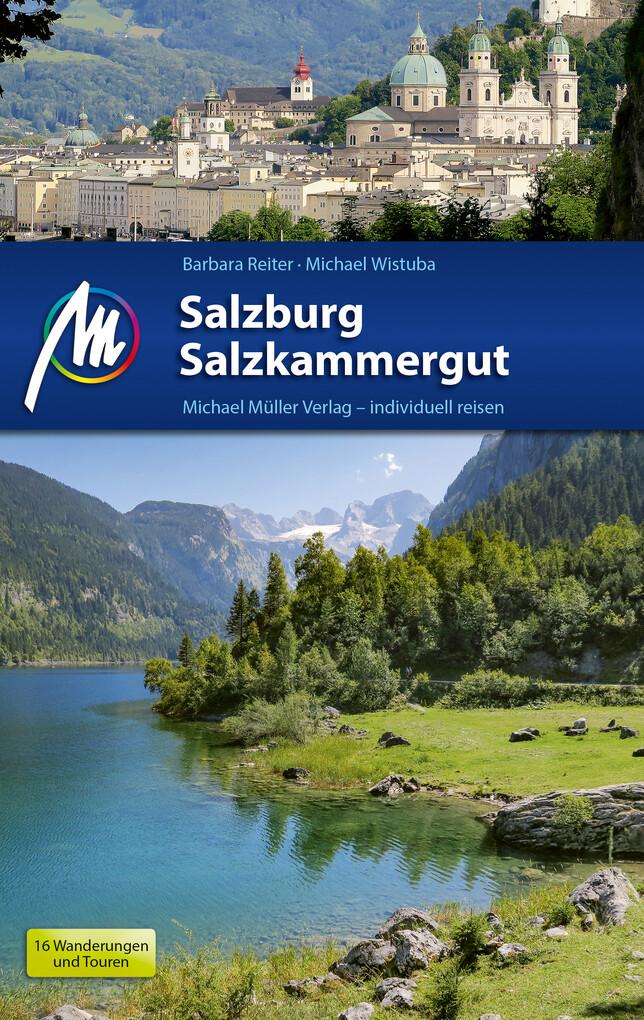 Salzburg & Salzkammergut Reiseführer Michael Müller Verlag als eBook epub