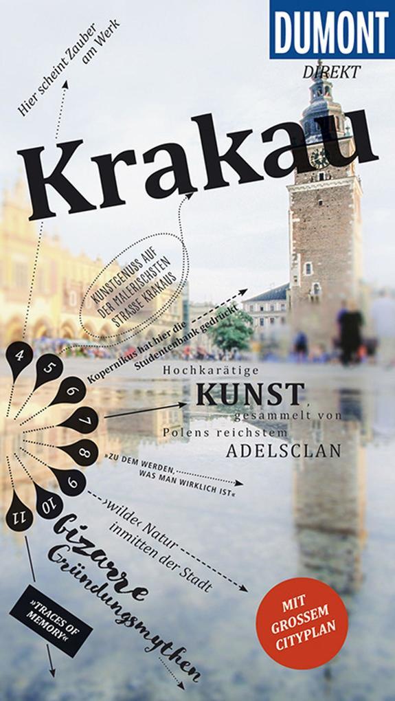 DuMont direkt Reiseführer Krakau als Buch (kartoniert)