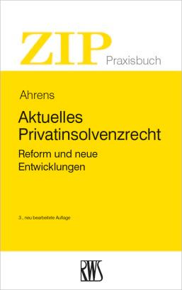 Aktuelles Privatinsolvenzrecht als eBook epub