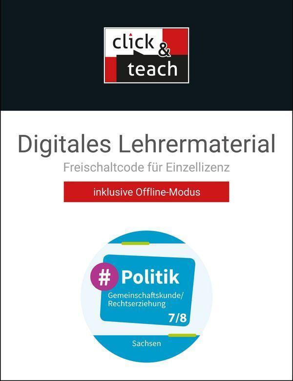 #Politik - Sachsen click & teach 1 Box als Software