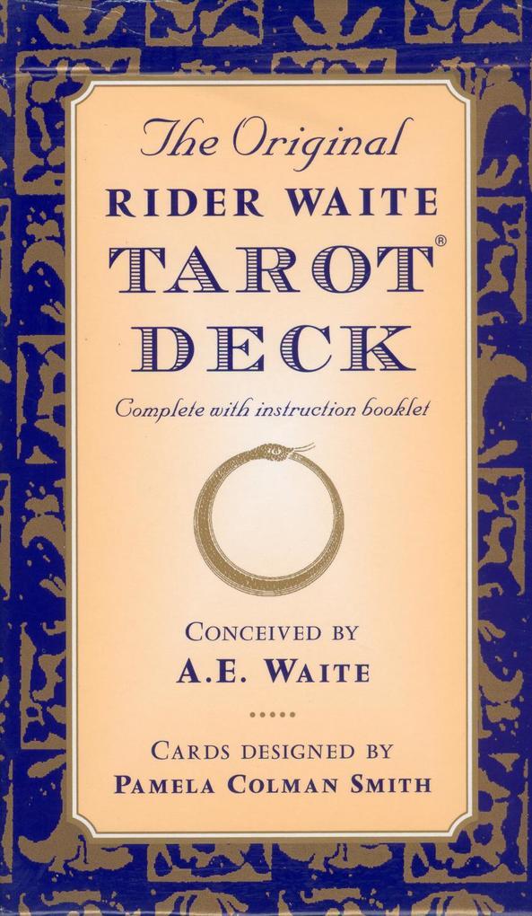 The Original Rider Waite Tarot Deck als Taschenbuch