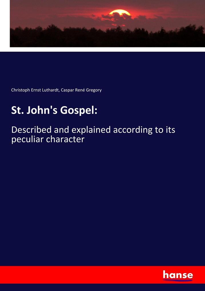 St. John's Gospel: als Buch (kartoniert)