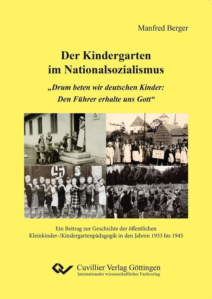 Der Kindergarten im Nationalsozialismus als eBook pdf