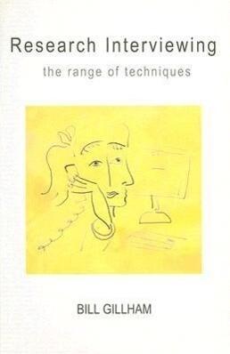 Research Interviewing: The Range of Techniques als Buch (kartoniert)