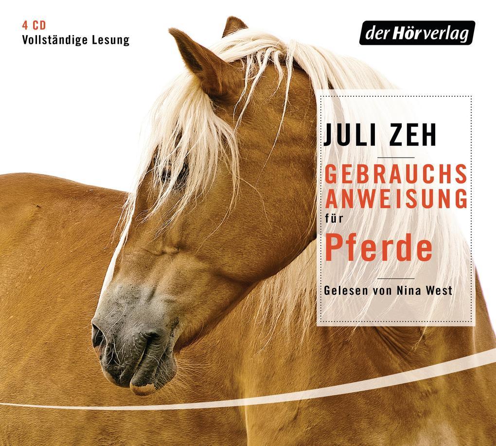 Gebrauchsanweisung für Pferde als Hörbuch CD