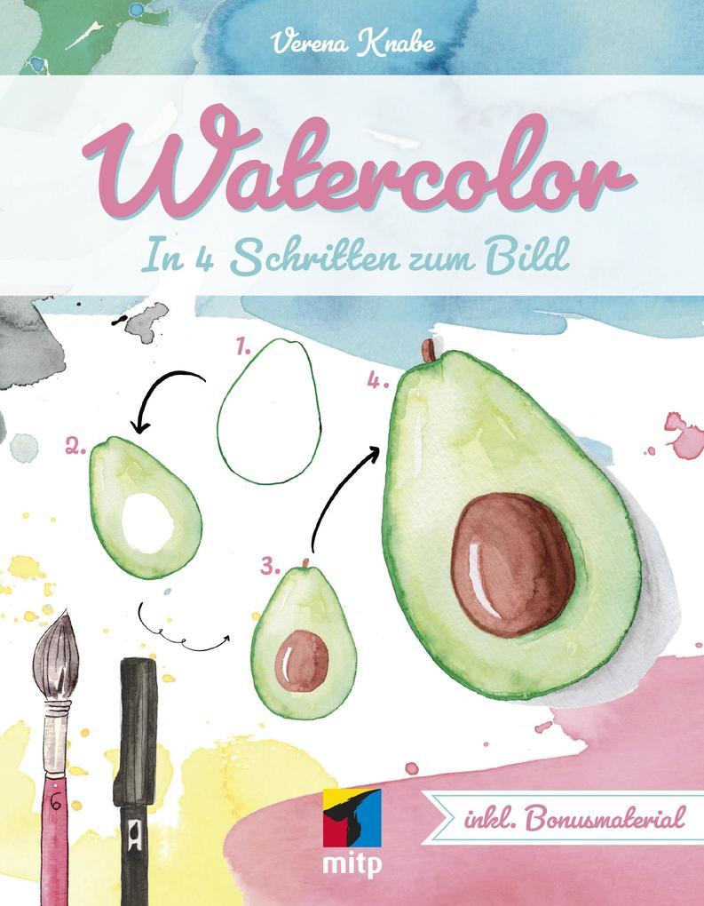 Watercolor als Buch (kartoniert)