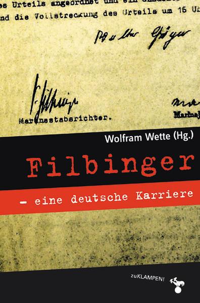 Filbinger - eine deutsche Karriere als Buch