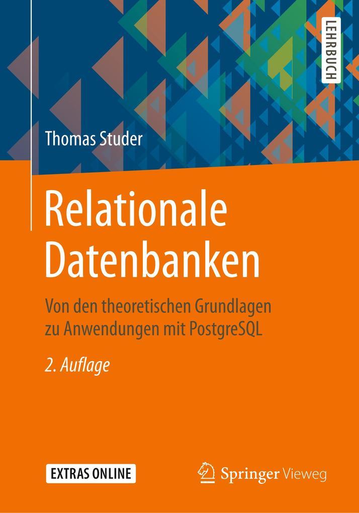 Relationale Datenbanken als Buch (kartoniert)