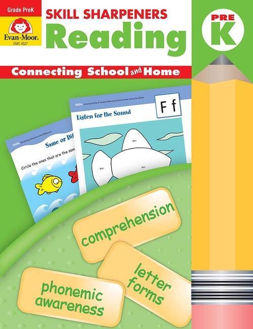 Skill Sharpeners Reading Grade Pre-K als Taschenbuch
