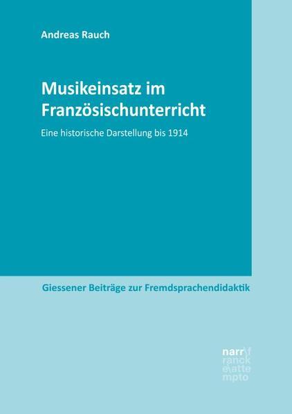 Musikeinsatz im Französischunterricht als Taschenbuch