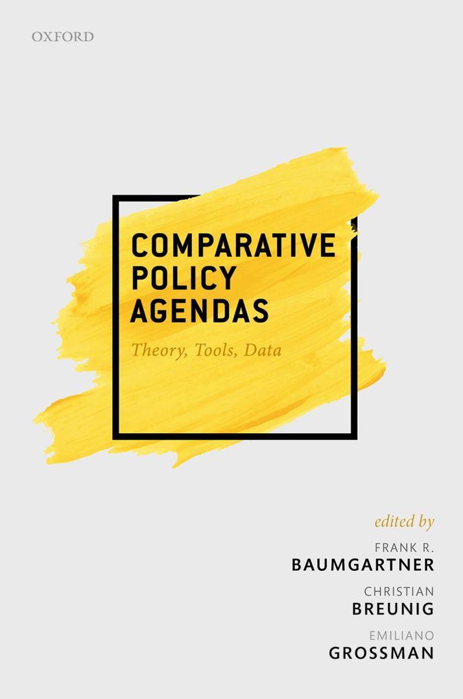 Comparative Policy Agendas als eBook epub