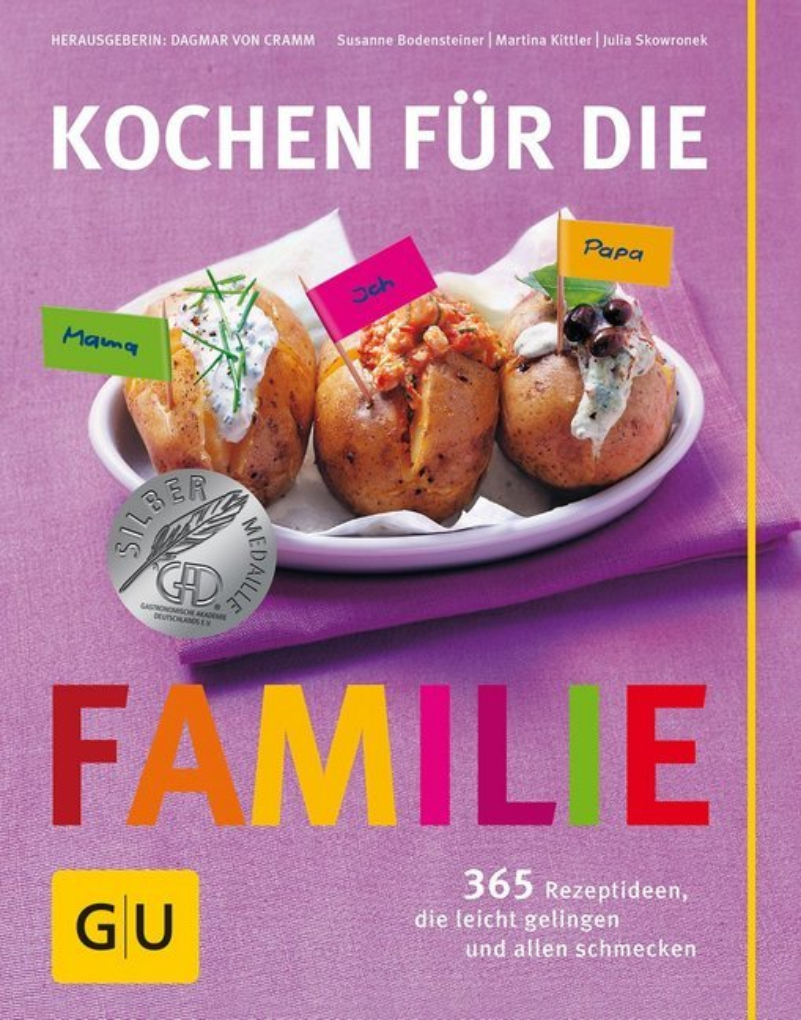 Kochen für die Familie als Buch