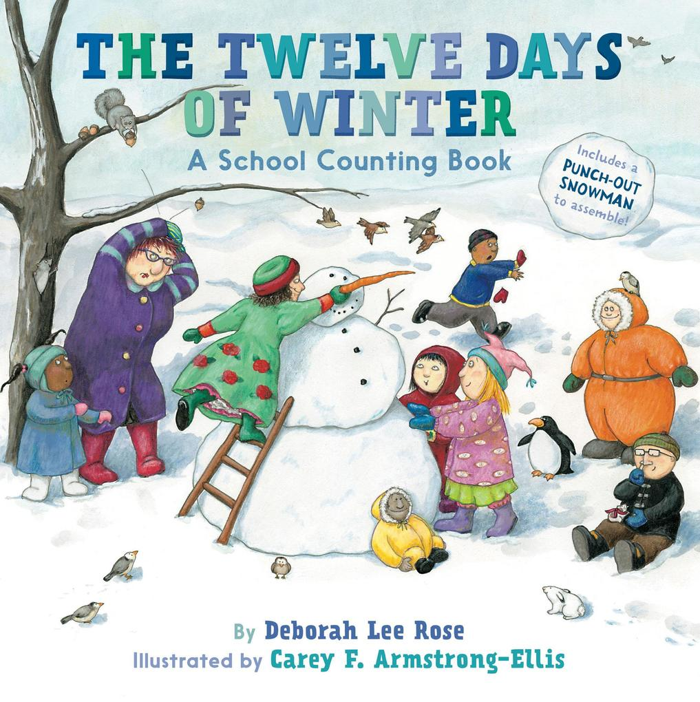 The Twelve Days of Winter: A School Counting Book als Taschenbuch