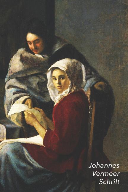 Johannes Vermeer Schrift: Onderbreking Van de Muziek - Artistiek Dagboek Voor Aantekeningen - Stijlvol Notitieboek - Ideaal Voor School, Studie, als Taschenbuch