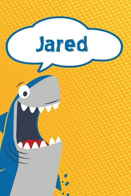 Jared: Personalized Shark Blood Sugar Diet Diary Journal Log Featuring 120 Pages 6x9 als Buch (kartoniert)