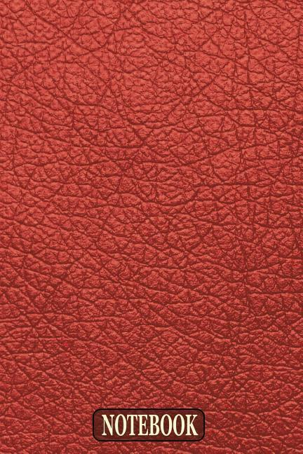 Notebook: Notebook and Journal for All Ages, Exercise and Composition Book and More (Red Leather Effect Cover) als Taschenbuch