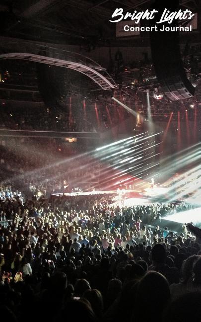 Bright Lights: Concert Journal als Taschenbuch