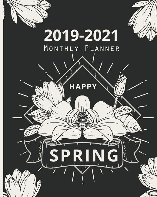 2019-2021 Monthly Planner: Spring Floral Cover, Daily, Monthly Calendar 36 Months Calendar Agenda Planner with Holiday 8 X 10 als Taschenbuch
