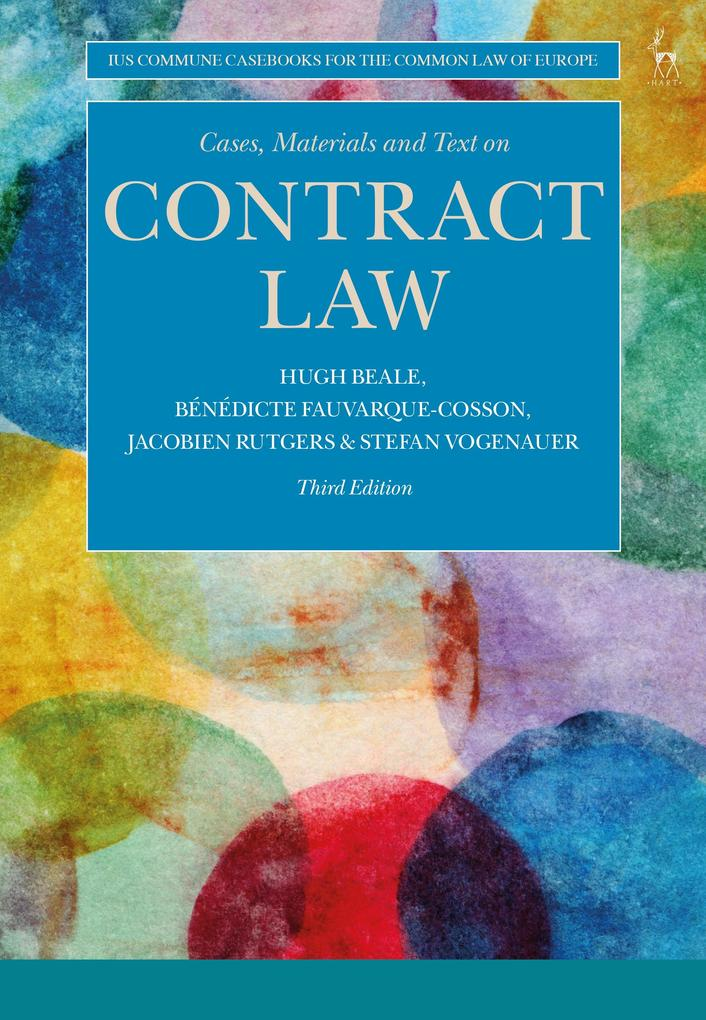 Cases, Materials and Text on Contract Law als eBook epub