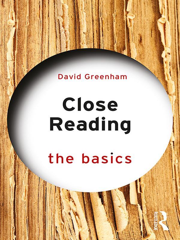Close Reading: The Basics als eBook pdf