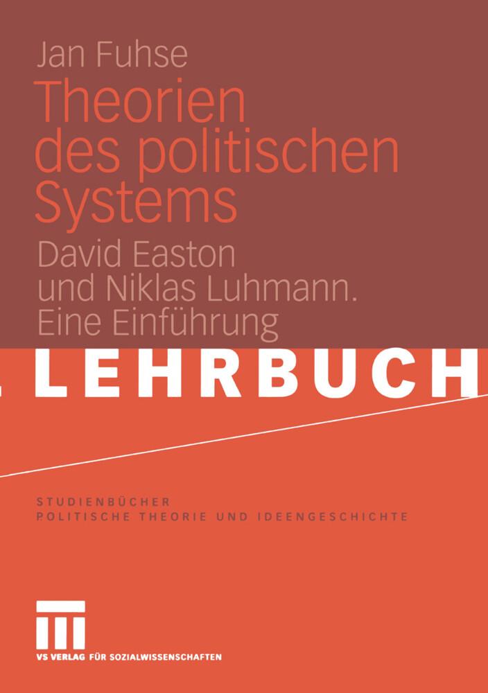 Theorien des politischen Systems als Buch (kartoniert)