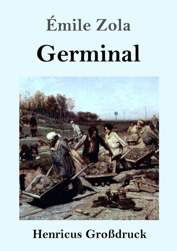 Germinal (Großdruck) als Buch (kartoniert)