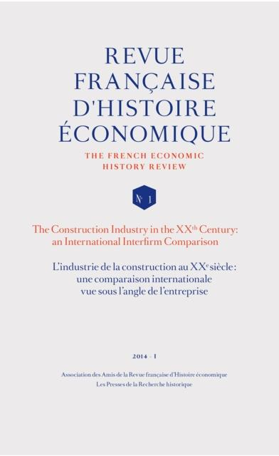L'industrie de la construction au XXe siecle: une comparaison internationale vue sous l'angle de l'e als eBook pdf