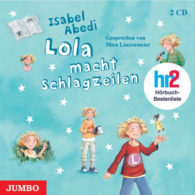 Lola macht Schlagzeilen als Hörbuch CD