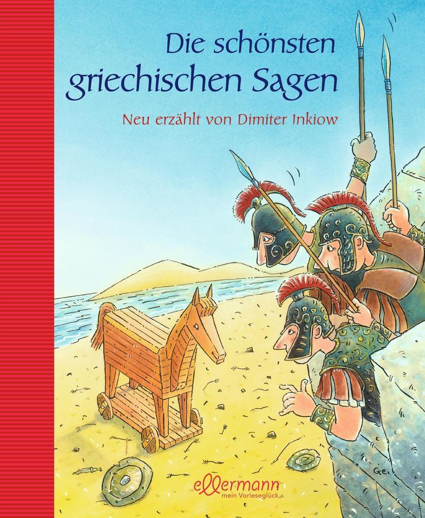 Die schönsten griechische Sagen als Buch (gebunden)