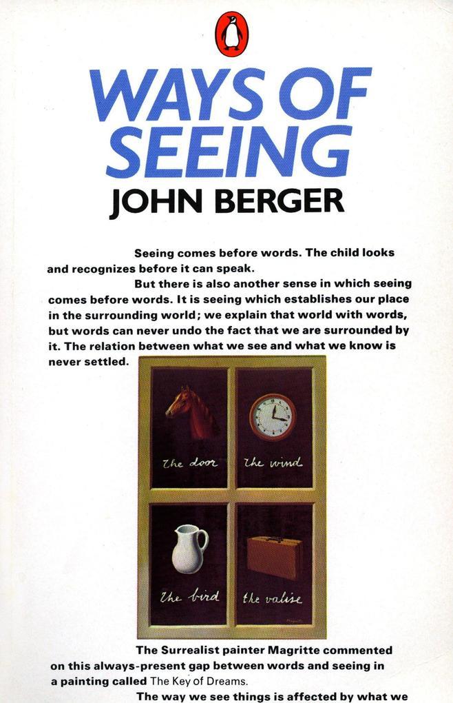 Ways of Seeing als Buch (kartoniert)