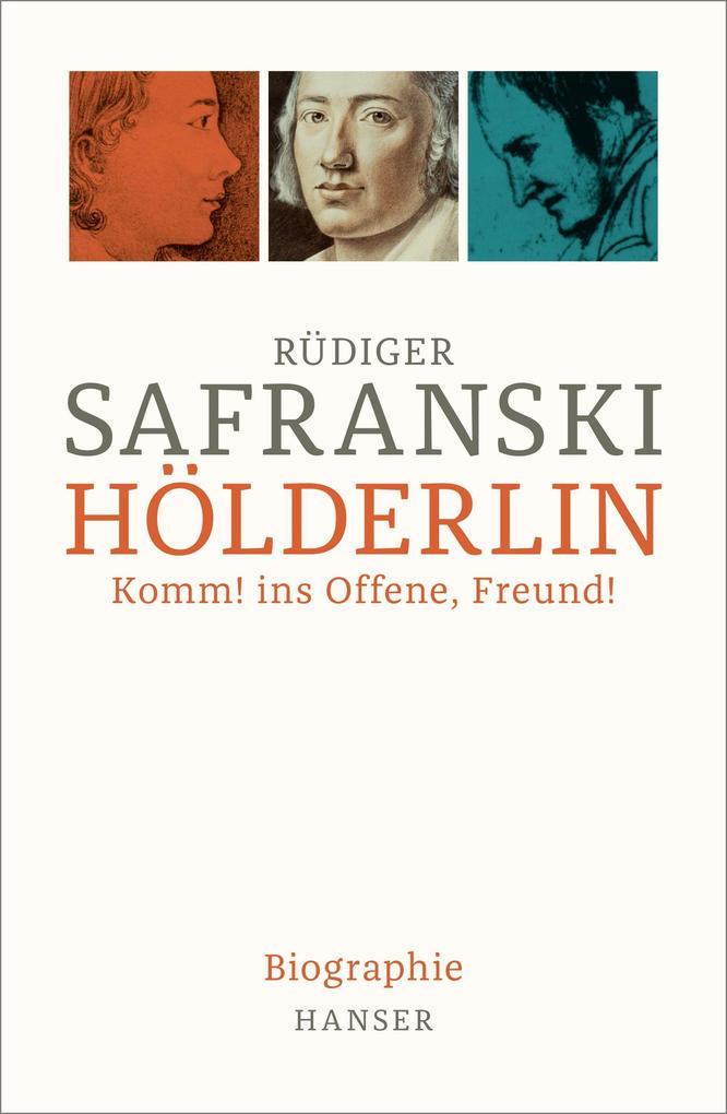 Hölderlin als Buch (gebunden)