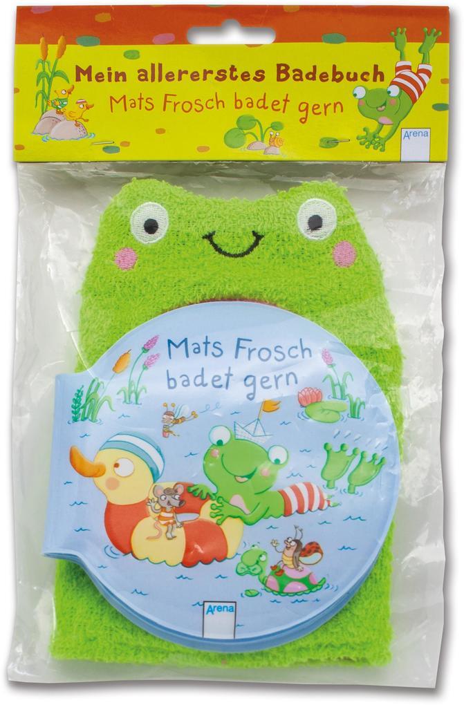 Mats Frosch badet gern als Buch (gebunden)