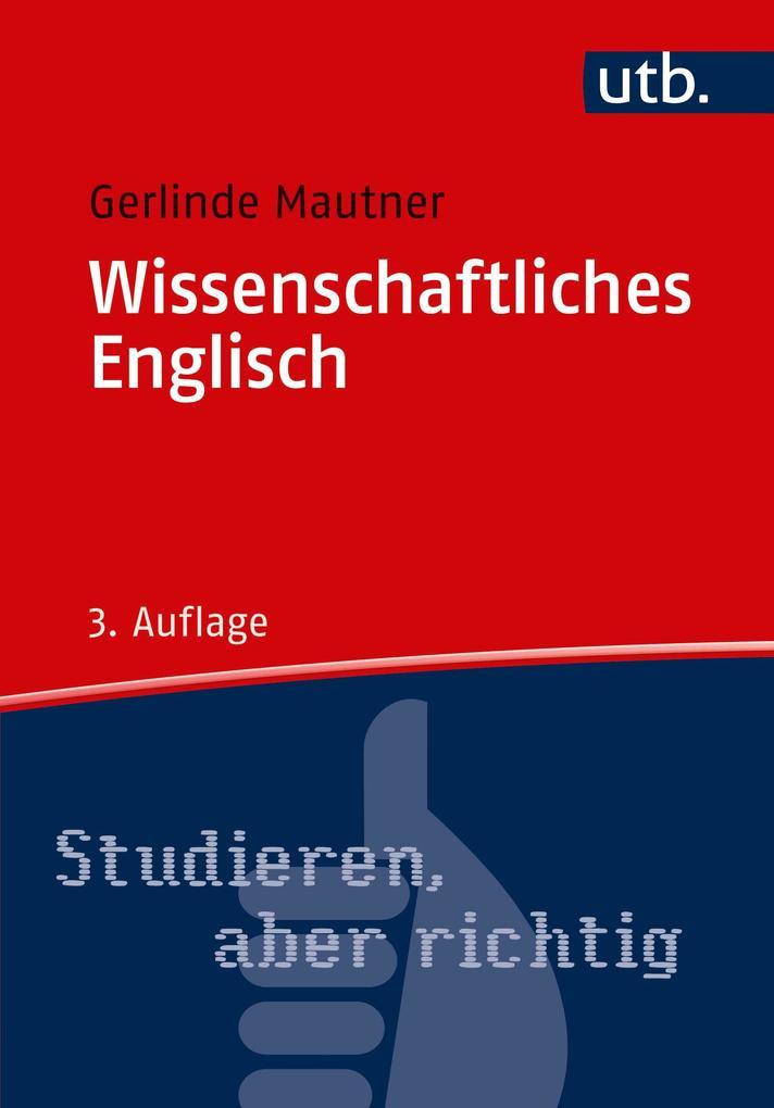 Wissenschaftliches Englisch als Buch (kartoniert)