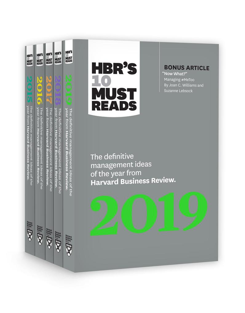 5 Years of Must Reads from HBR: 2019 Edition als eBook epub