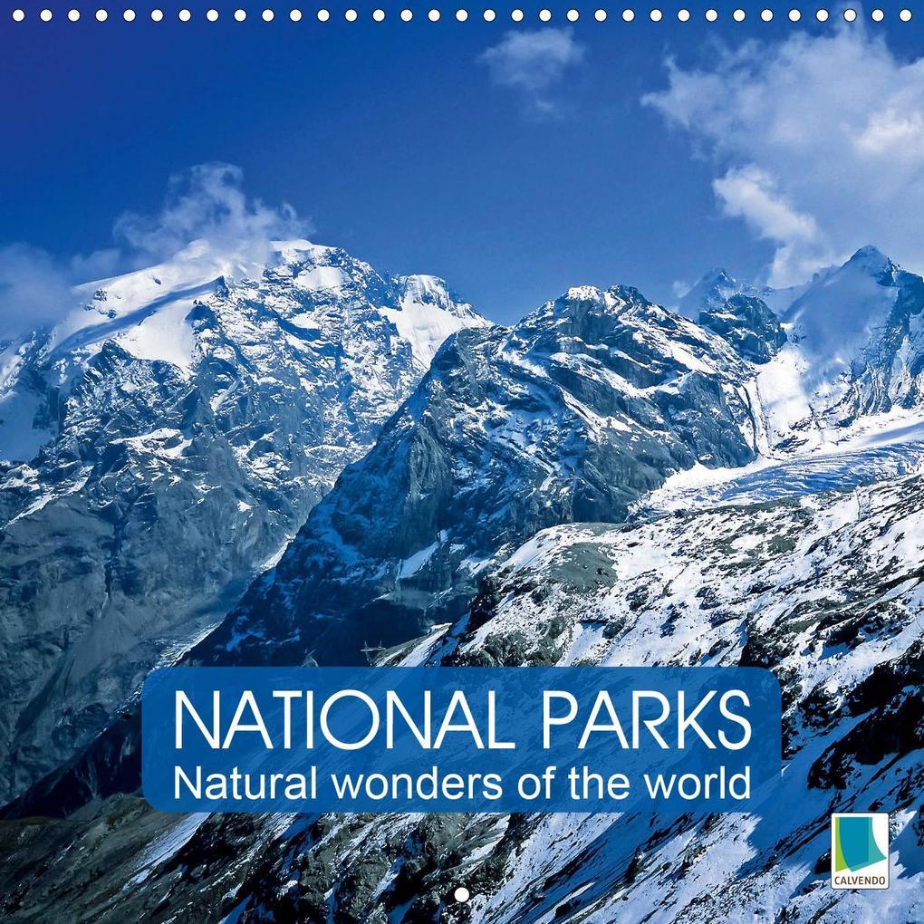 National Parks - Natural wonders of the worldder Natur (Wall Calendar 2020 300 × 300 mm Square) als Kalender