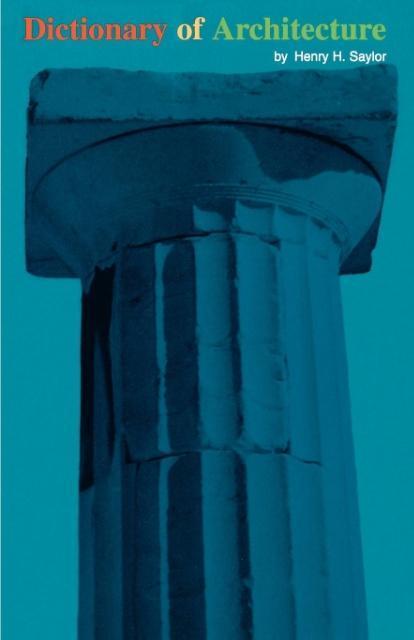 Dictionary of Architecture als Taschenbuch